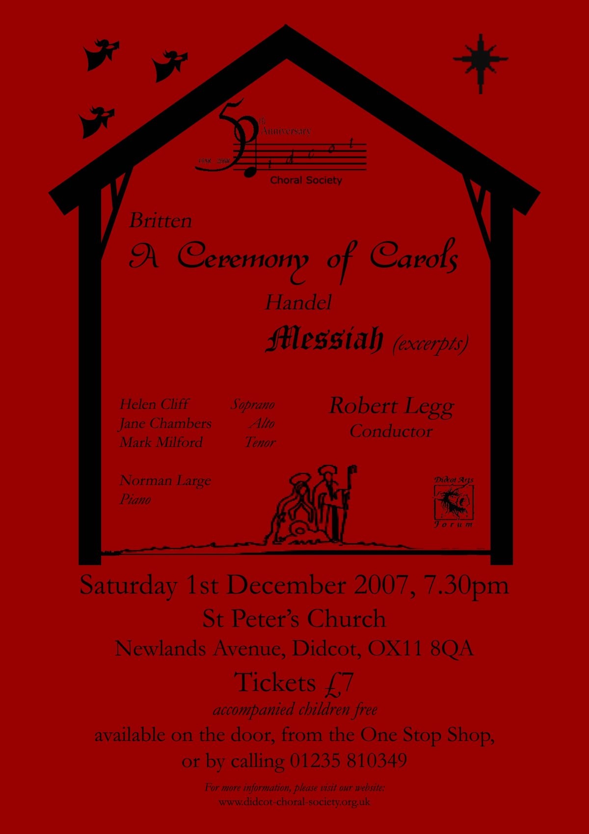 A Ceremonyh of Carols December 2007
