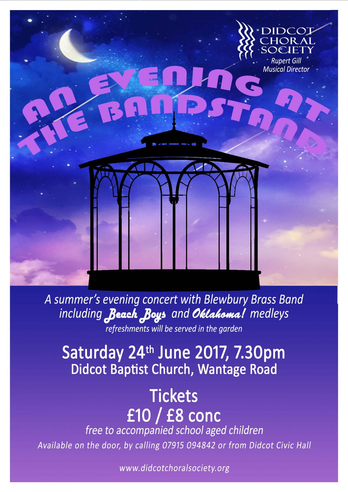 An Evening at the Bandstand June 2017