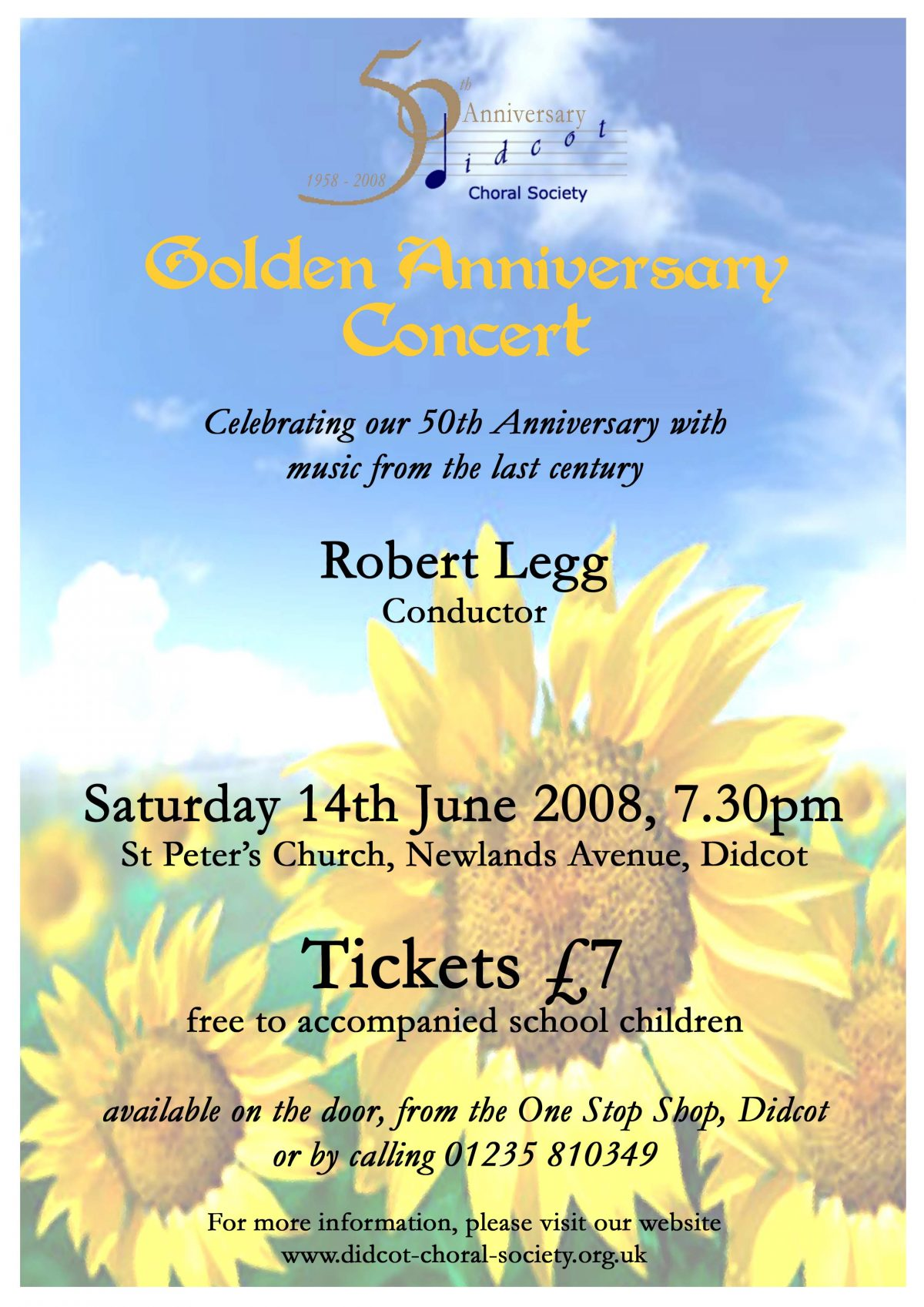 Golden Anniversary Concert June 2008