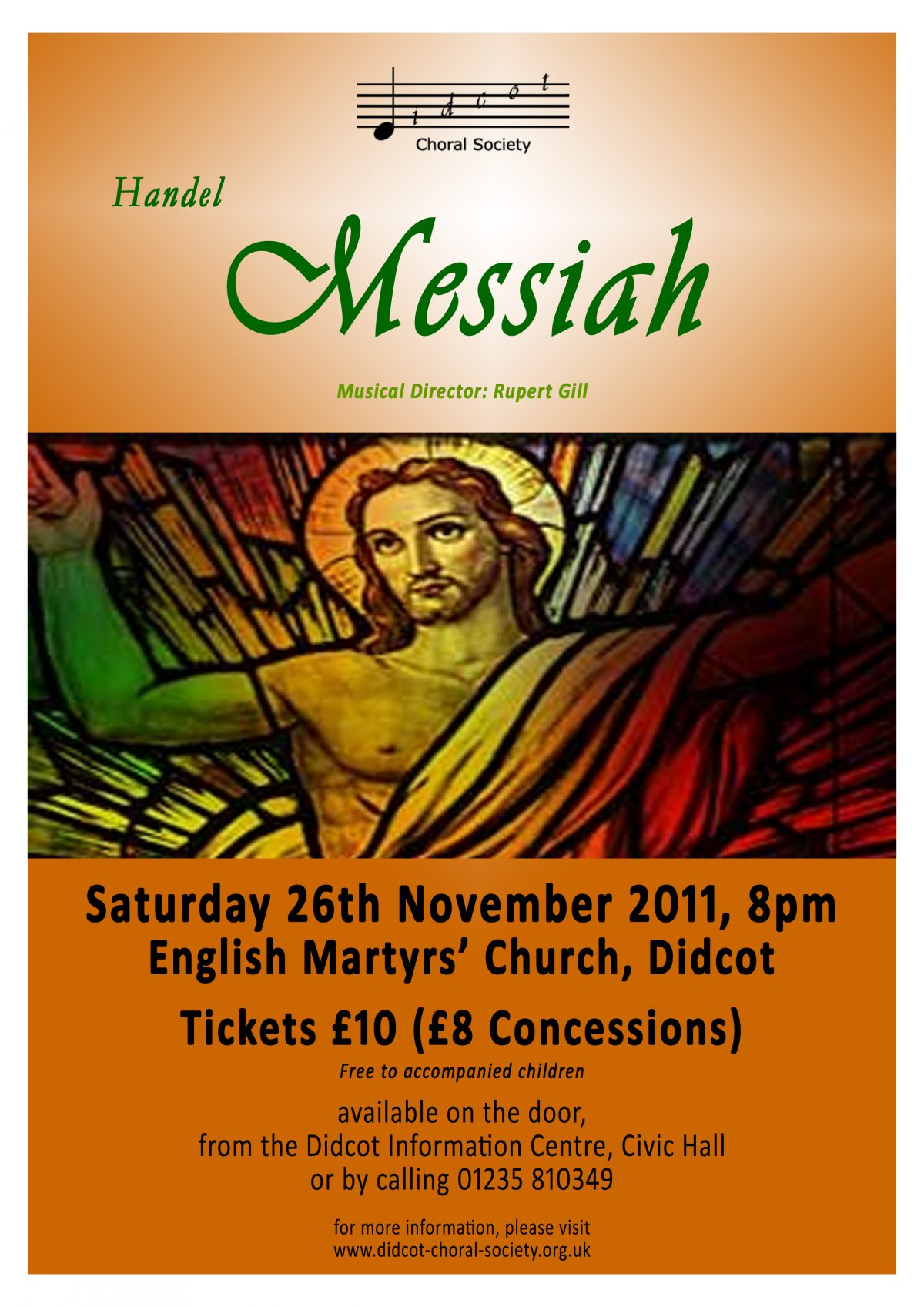 Messiah November 2011