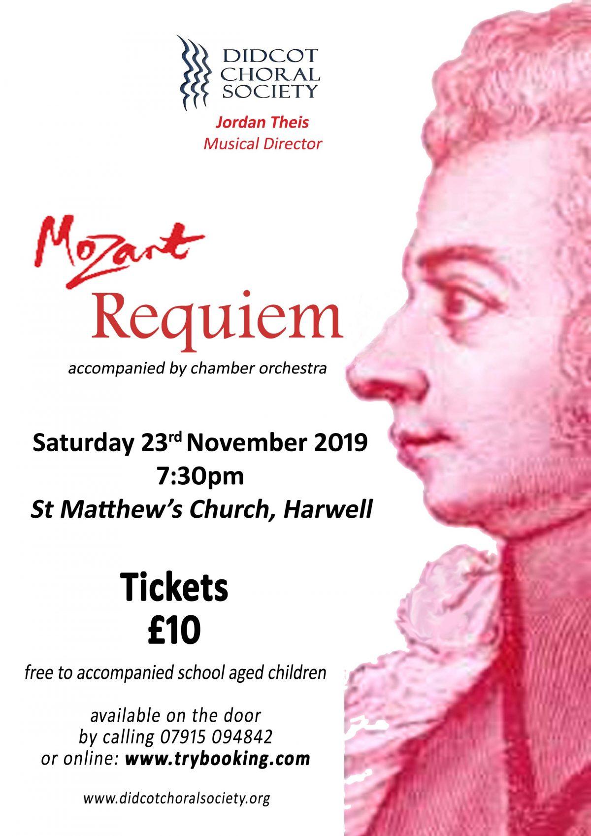 Mozart Requiem November 2019