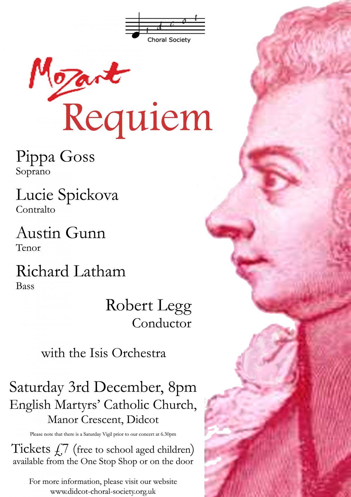 Mozart Requiem December 2005