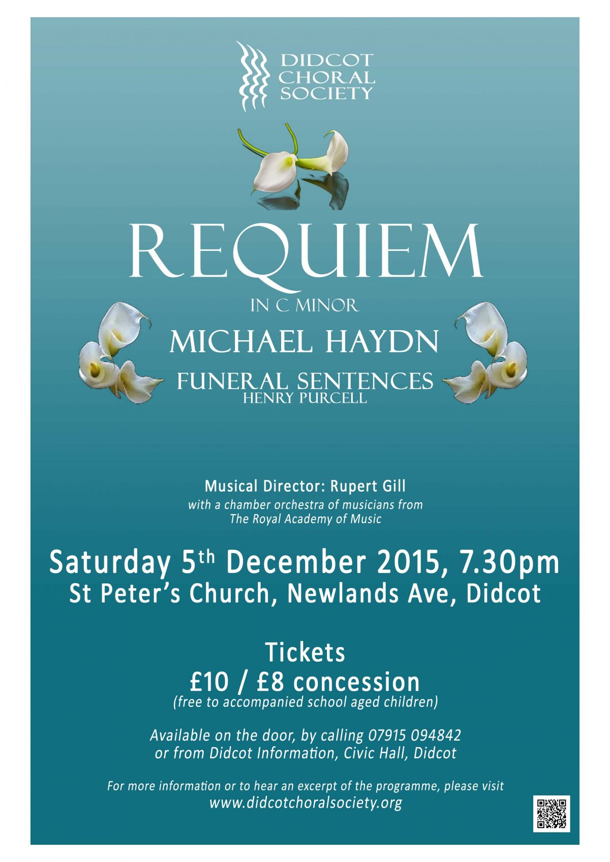 Michael Haydn Requiem December 2015