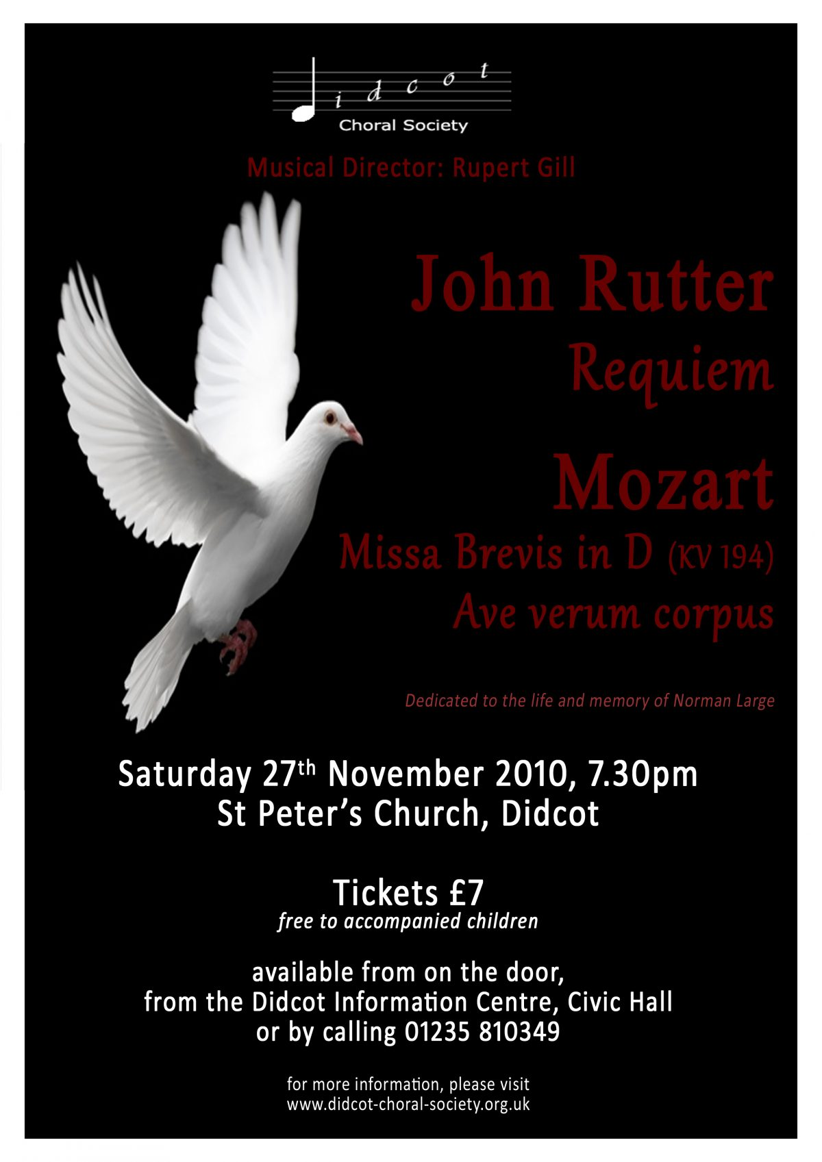 Rutter Requiem November 2010