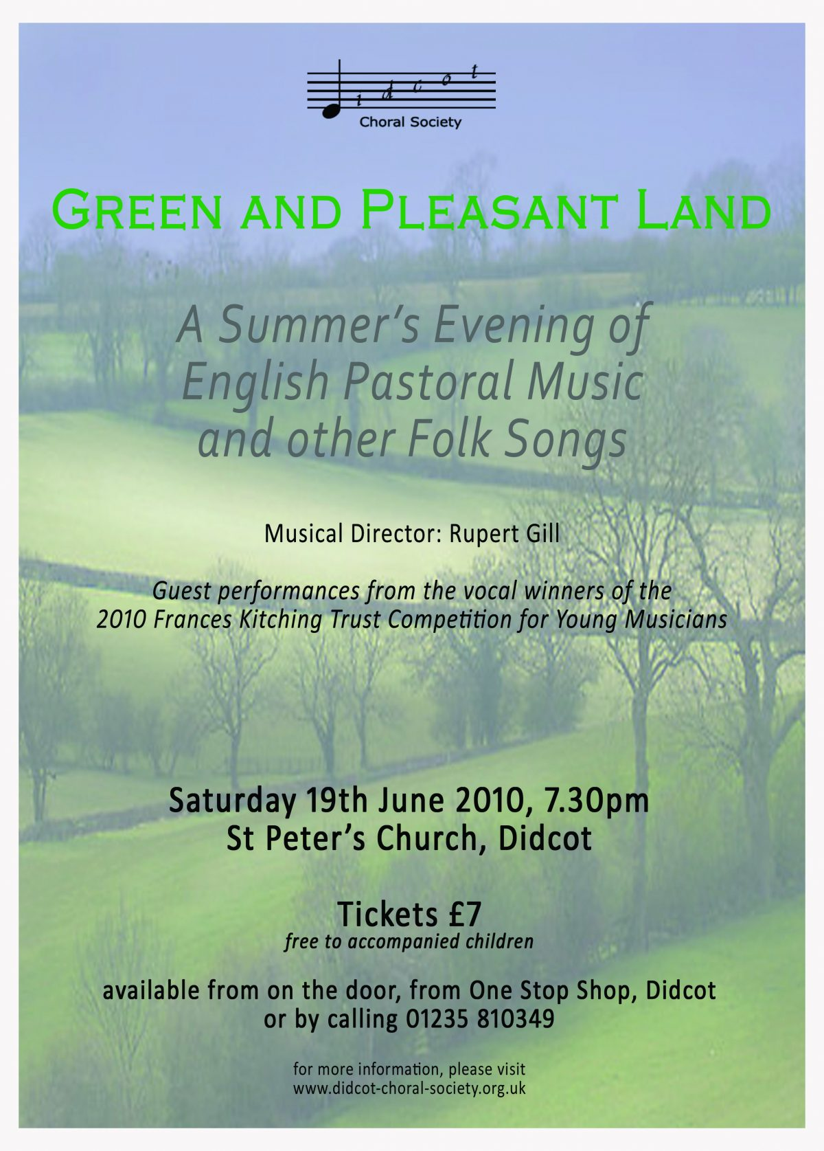 Green and Pleasant Land June 2010