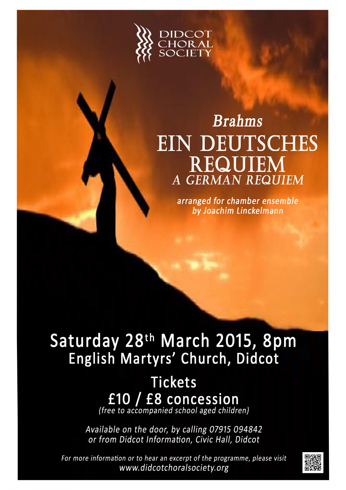Ein Deutsches Requiem March 2015