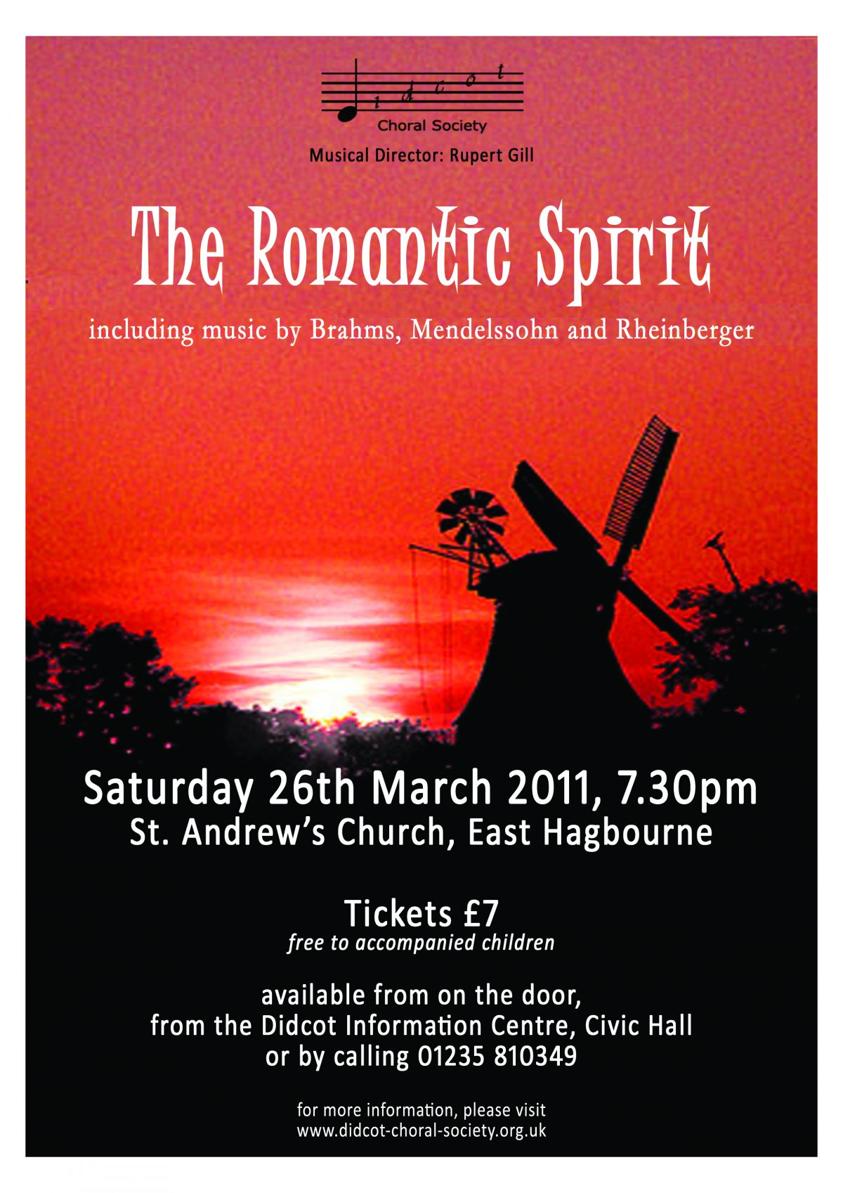 The Romantic Spirit March 2011