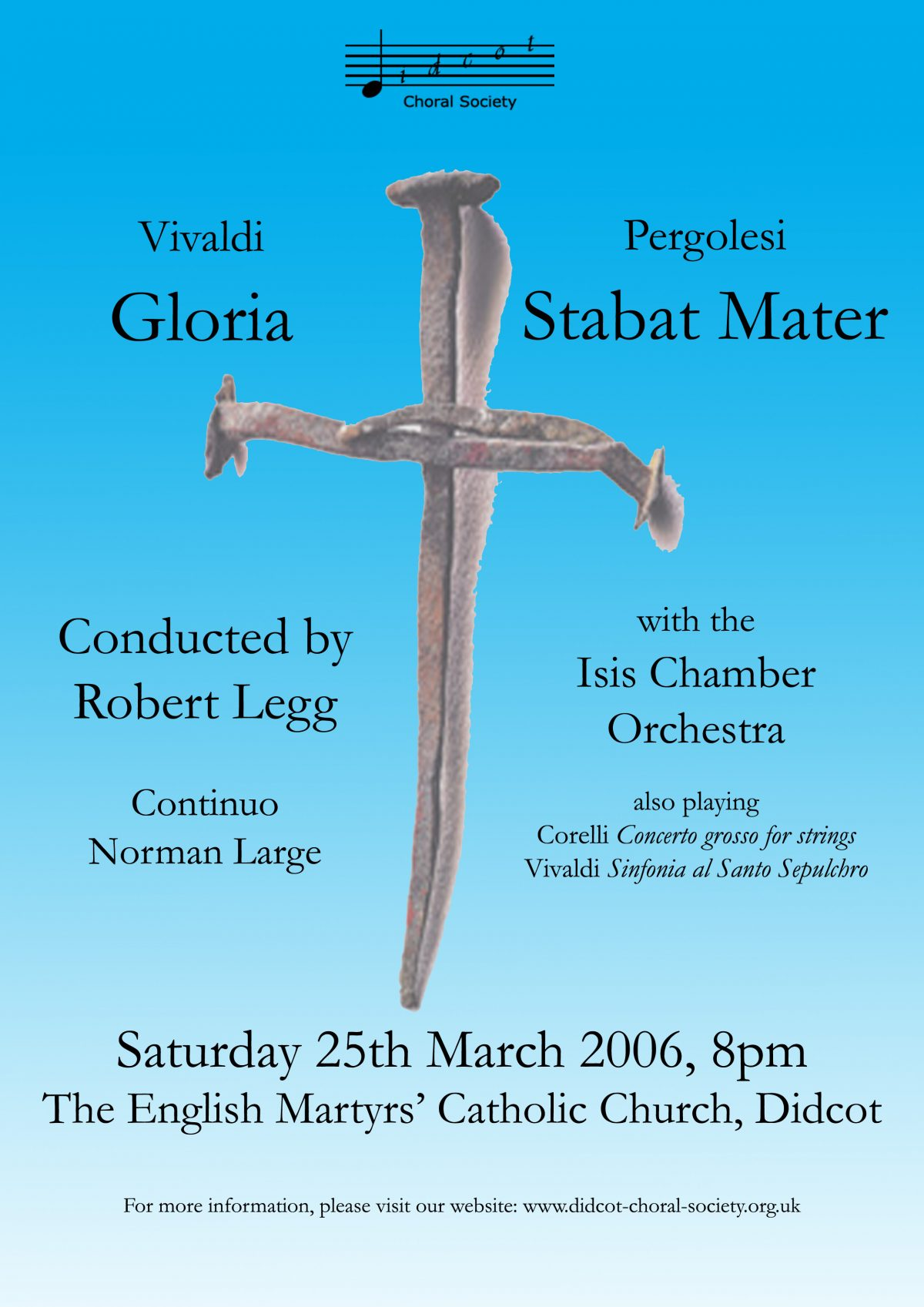 Vivaldi and Pergolesi March 2006