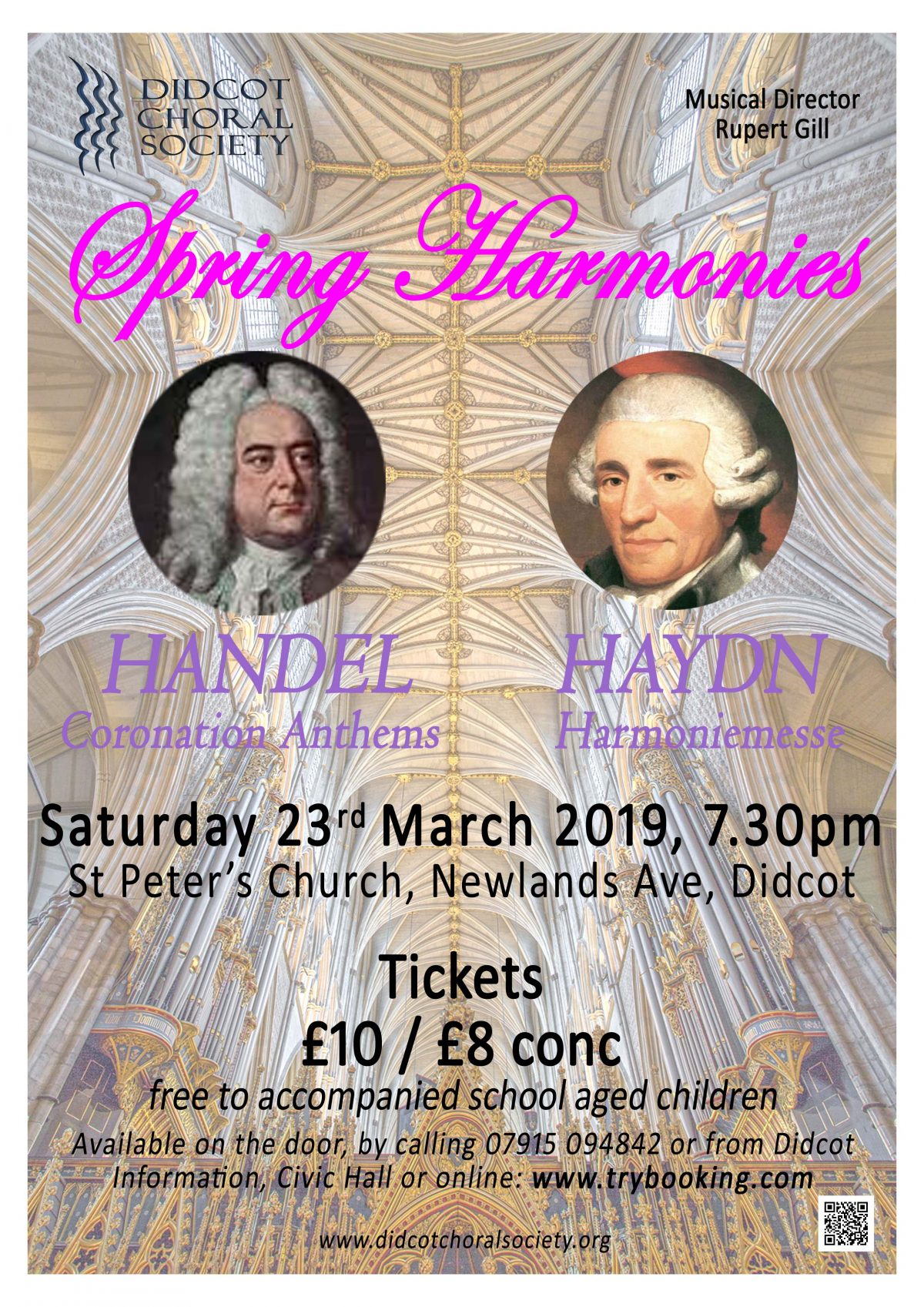 Spring Harmonies March 2019