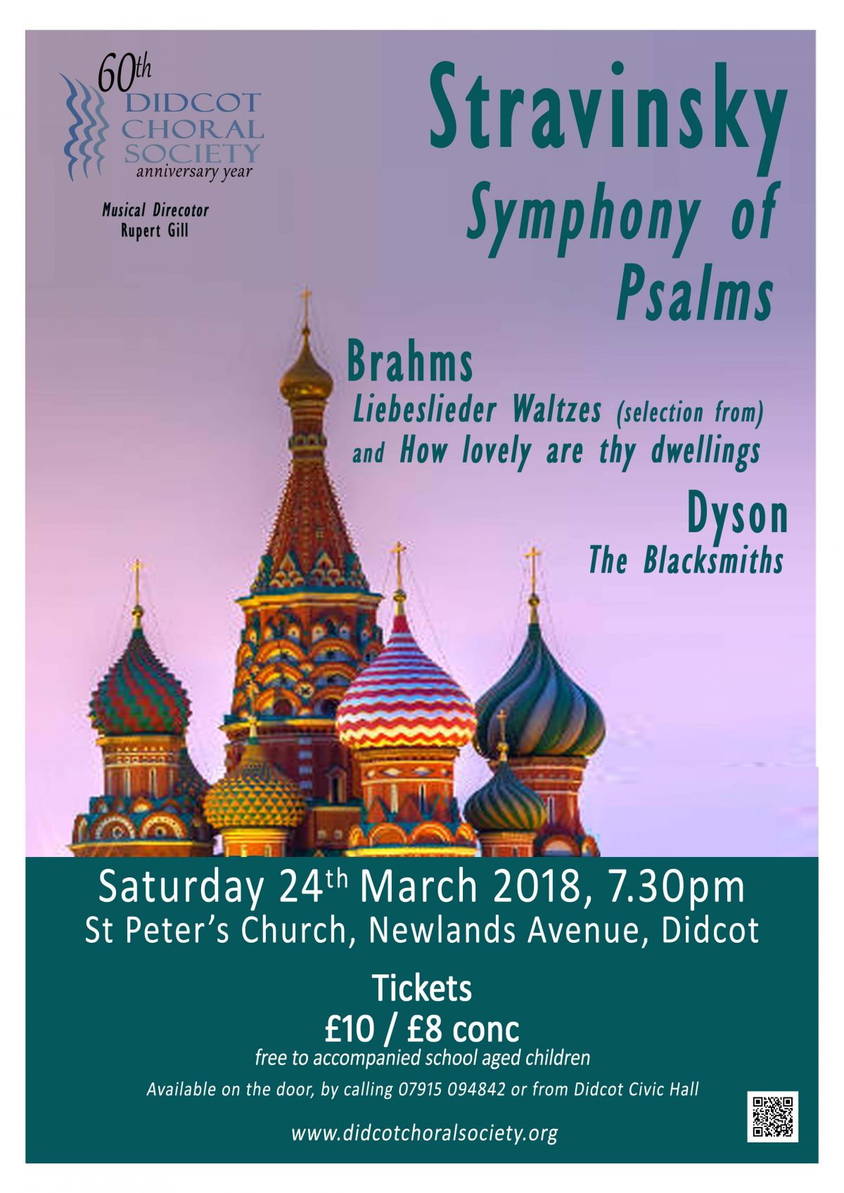 Symphony of Psalms March 2018
