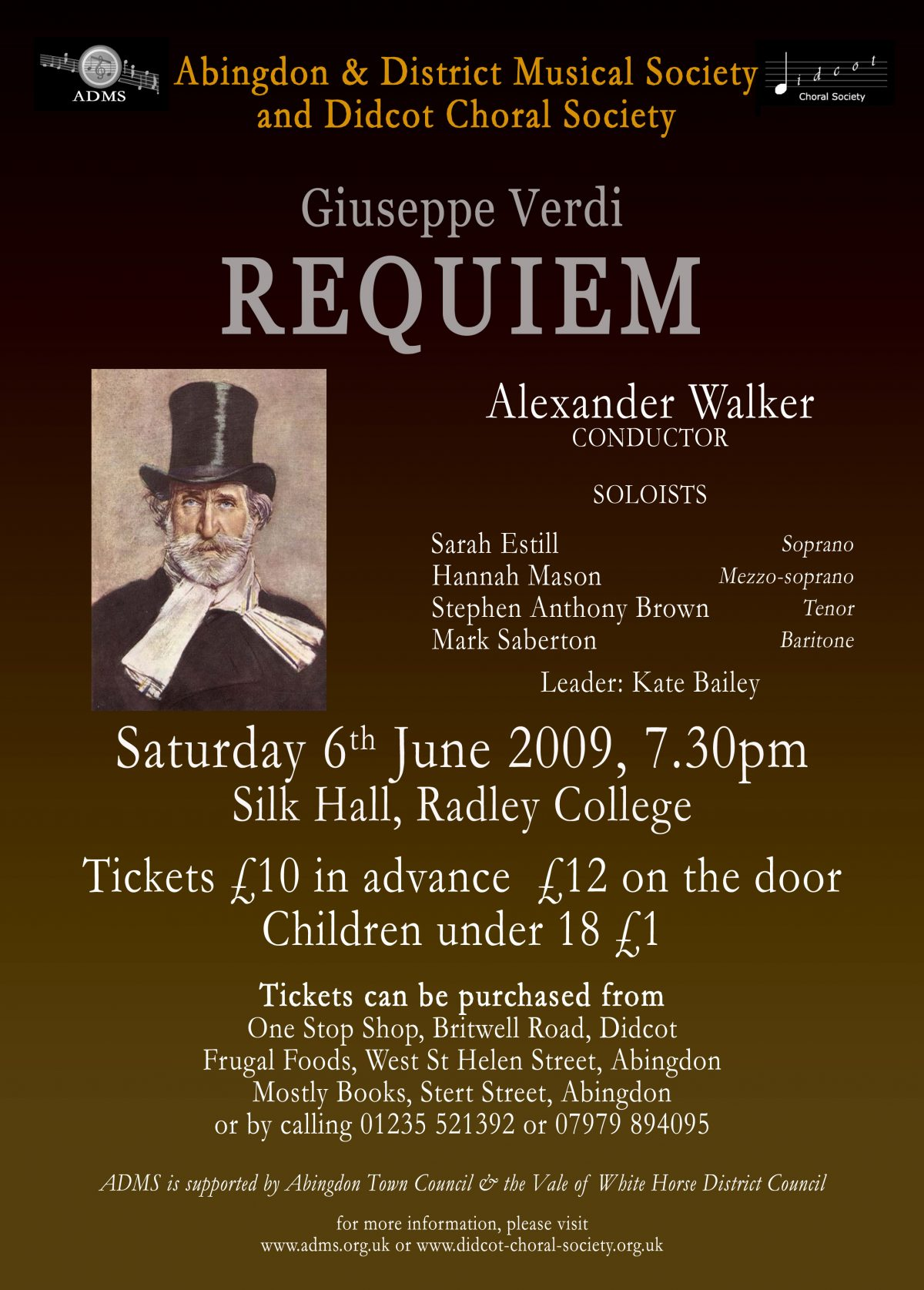 Verdi Requiem June 2009