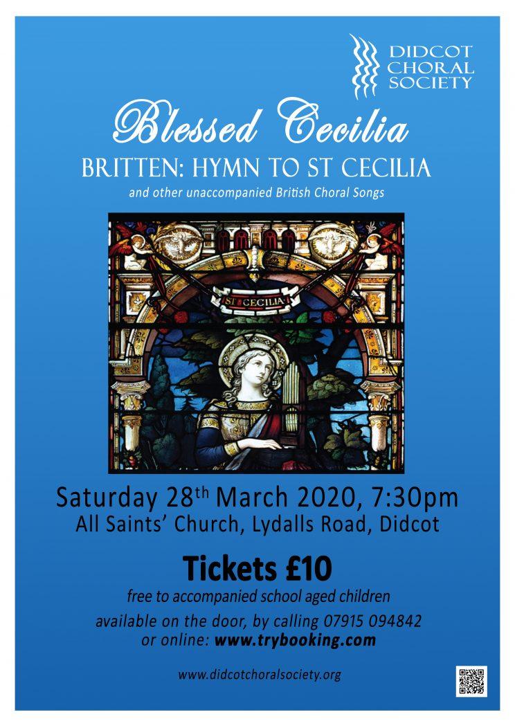 St Cecilia Poster